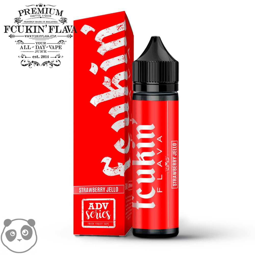 Strawberry Jello - Red Edition - 50ml